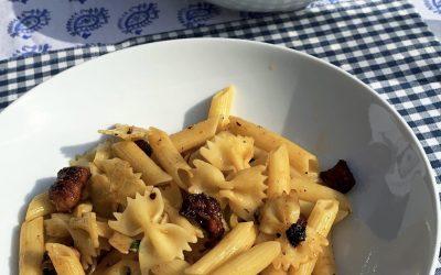 Sizzling Sausage & Sun-Dried Tomato Pasta