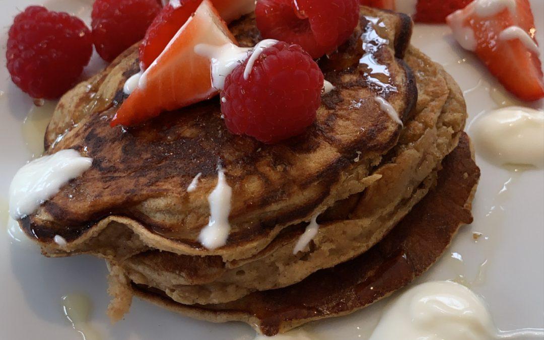 Em's Oat & Banana Pancakes