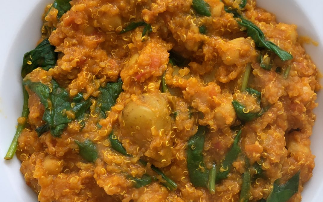 Chickpea, Quinoa & Turmeric Curry