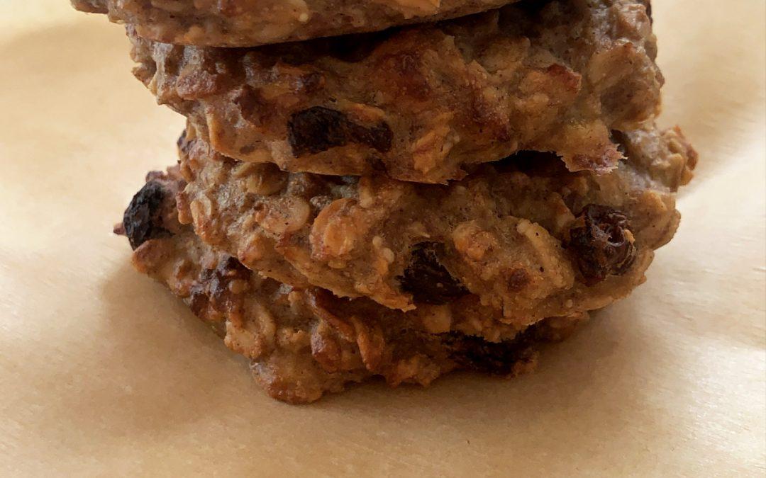 Five-Ingredient Breakfast Banana Cookies