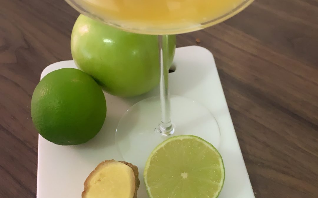Spicy Ginger Shots