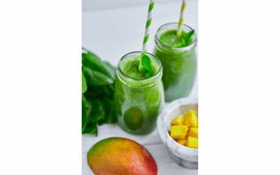 Apple and Mango Smoothie